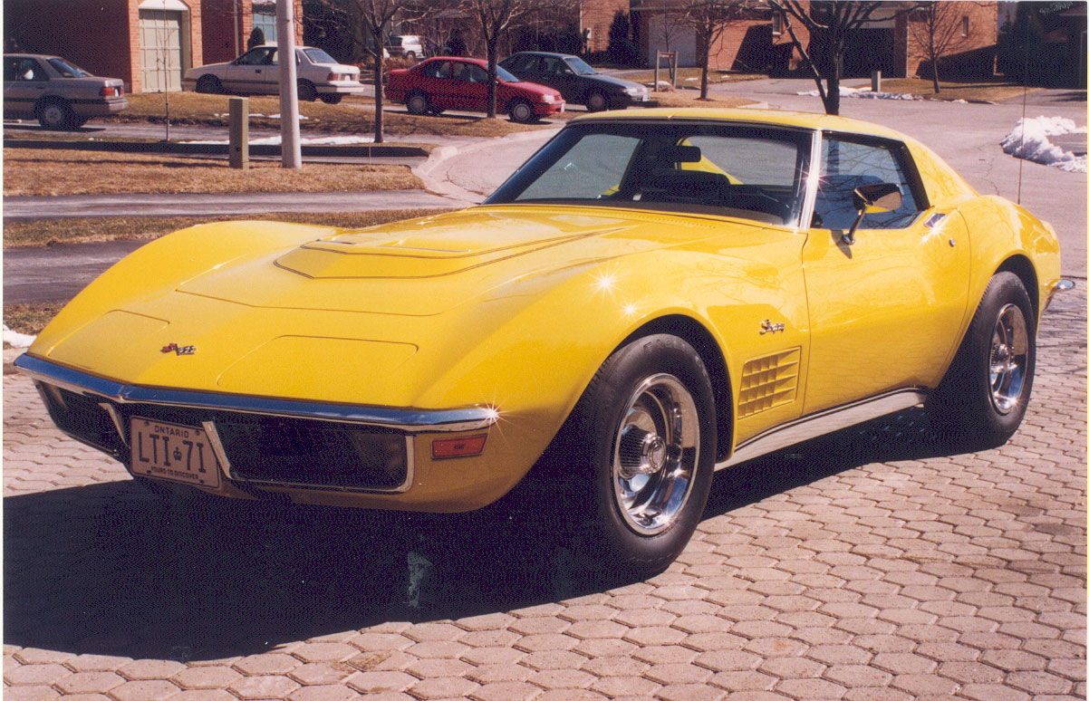 Welcome to Stuart's 1971 LT-1 Corvette Stingray