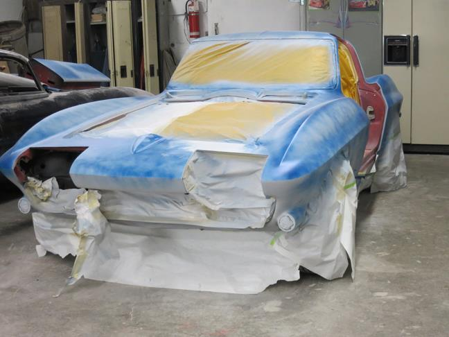 1967 Corvette Sting Ray Coupe Restoration Project